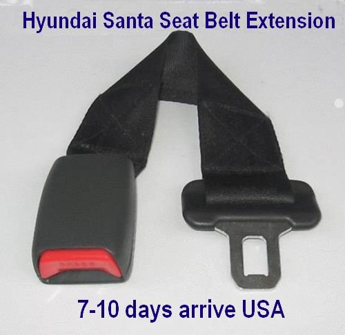 Hyundai Santa Seat Belt Extension Extender For 25mm Wide Buckle Add 14� length 7-10days arrive USA