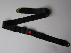Auto Universal Replacement Lap Seat Belt & Fixing Kit
