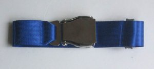 Airplane Airline  Seat Belt Extension Extender  in Blue free ship to usa canada