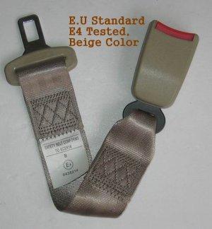 """Seat Belt Extension Extender 7/8"""" Buckle E4 Certified"""