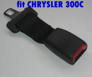"CHRYSLER 300C Seat Belt Extension Extender for 1"" buckle add 8""length free ship 7-10 DAYS ARRIVE US"