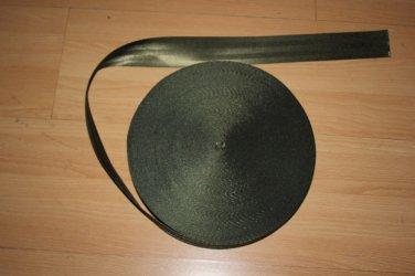 20 meter ROLL 48mm wide SEAT BELT SAFETY STRAP WEBBING SHABBY OLIVE 7