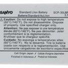 Sanyo Lilon Battery SCP-30LBPS 3.7V Katana LX 3800
