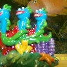 Aqua Toons CUTE FISH TRIO Decoration for aquariums NEW