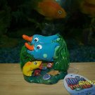Aqua Toons FISH TWINS  Decoration for aquariums NEW