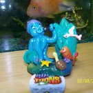 Aqua Toons SINGING SQUID Decoration for aquariums NEW