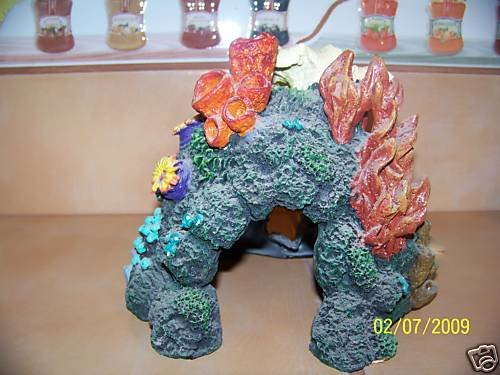 GREAT BARRIER REEF CAVERN Decoration for aquariums NEW