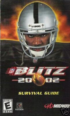Blitz 2002  (PS2) INSTRUCTION MANUAL  ONLY no game