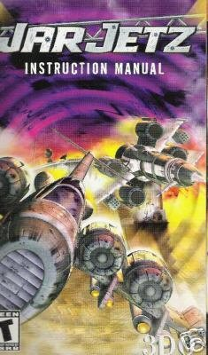 War Jetz (PS2) INSTRUCTION MANUAL ONLY no game