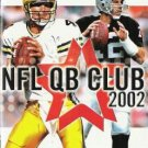 NFL QB Club 2002 ( Xbox) INSTRUCTION MANUAL no game
