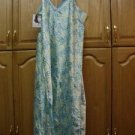 Jaclyn Smith Sleepwear Plus Long 3X SLINKY Gown S/Strap