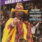 WWF/WWE WRESTLEMANIA'S GREATEST MATCHES  ~NEW~  VHS