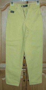 Yellow M.A.S.H. B83 5-pocket Jeans 22x25 girls CuTe