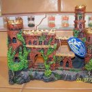 LARGER BRICK CASTLE RUINS Decoration for aquariums NEW