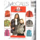 CHILDRENS/GIRLS JACKET - VEST  PATTERN med-xlg