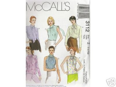 MISSES' TOPS 6 variations  McCALL'S PATTERN
