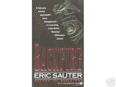 Backfire by Eric Sauter (1993) crime thriller pb