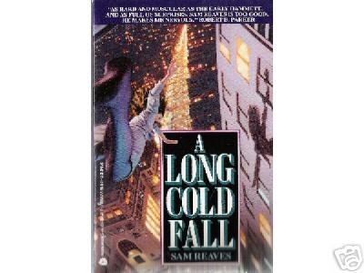 A Long Cold Fall by Sam Reaves (1992) PB MYSTERY