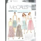 Quick & Easy Sew MISSES' SKIRTS  McCALL'S PATTERN 12-18