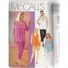 WOMEN'S TOPS & PULL-ON PANTS 3-lengths McCALL'S PATTERN