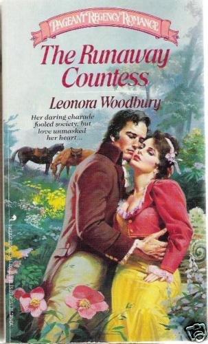 The Runaway Countess -Leonora Woodbury  Pageant Regency