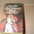 Lord Gilmore's Bride by Sheila Walsh  regency
