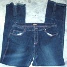 Zoey Beth stretch jeans size15/16  -5 pocket 36x34 slit