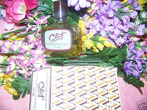 Avon CLINT after shave for MEN (plain bottle) 5 full oz
