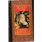 Blood Type Stephen Greenleaf MARSHALL TANNER MYSTERY PB