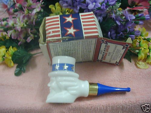 Avon WILD COUNTRY After Shave (Uncle Sam Pipe) 3 oz