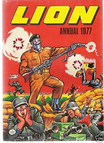 LION ANNUAL 1977 in good condition -fleetway