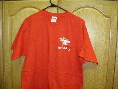 Red Walt Disney TEACHER'S PET  ~T-Shirt Adult Large NEW