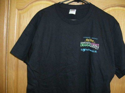 CONFESSIONS TEENAGE DRAMA QUEEN T-Shirt Adult Large NEW