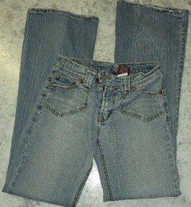 women's stone wash BONGO jeans  27x31 -5 pocket sz3