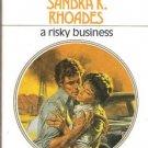 A Risky Business   Sandra K. Rhoades  HP