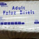 16 Invacare Value BRIEFS Adult Diapers/Underwear Medium