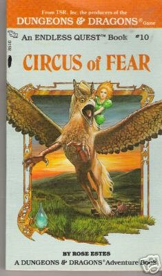Circus of Fear by Rose Estes (1983)