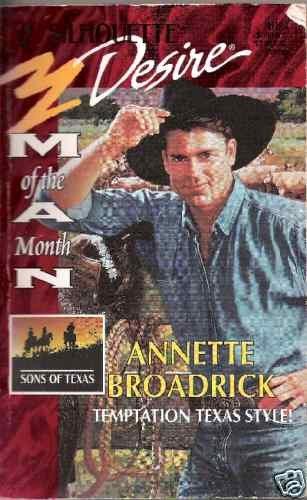 Temptation Texas Style  Annette Broadrick  PB