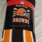 Cleveland Browns Fleece Blanket