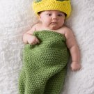 Frog Prince Cocoon and Crown - Photography Prop