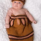 Native American Cocoon and Hat set - Photography Prop