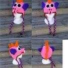 Crochet Pattern 008 - Dragon Earflap Beanie Hat - All Sizes