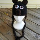 Crochet Pattern 015 - Teddy Bear Earflap Hat 2 - All Sizes