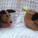 Crochet Pattern 023 - Hound Dog Booties - 3 Sizes