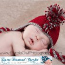 Crochet Pattern 029 - Mohawk Earflap Beanie - All Sizes