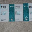1998 Service Manual NB Pontiac Grand Am Oldsmobile Achieva Buick Skylark