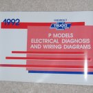 1992 Service Manual Electrical Diagnosis Wiring Diagram Chevrolet P Model
