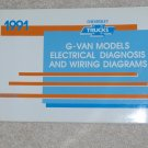 1991 Service Manual Electrical Diagnosis Wiring Diagram Chevrolet G Van