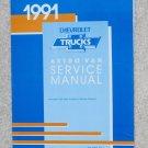 1991 Service Manual Chevrolet Astro Van M/L