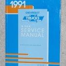 1991 Service Manual Chevrolet G Van